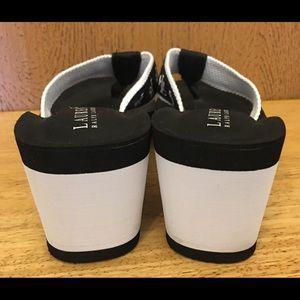 Lauren Ralph Lauren Shoes - Lauren Ralph Lauren Foam Wedge Flip Flops